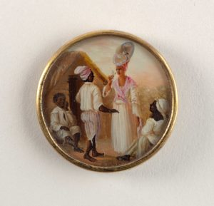 Button Haiti 18th Century