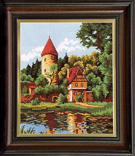 Гоблен Горски замък, Forest Castle Tapestry