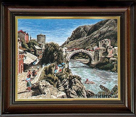 Гоблен Мостар, Mostar Tapestry
