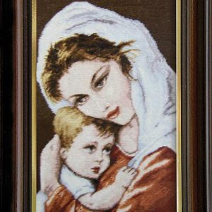 Гоблен Майчина ласка, Mother's Embrace Tapestry