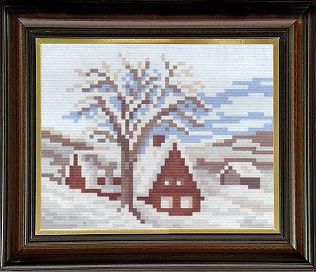 Гоблен Снежно утро, Snowy Morning Gobelin Tapestry
