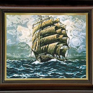 Гоблен Голямата фрегата, The Big Frigate Tapestry