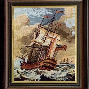 Гоблен Малката фрегата, The Small Frigate Tapestry