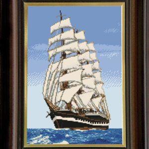 Гоблен Бялата фрегата, The White Frigate Tapestry