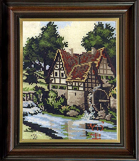 Гоблен Трите воденици, Three Watermills Tapestry