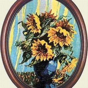 Гоблен Слънчогледите на Ван Гог, Van Gogh's Sunflowers Gobelin Tapestry
