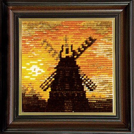 Гоблен Вечерна мелница, Windmill at Night Gobelin Tapestry
