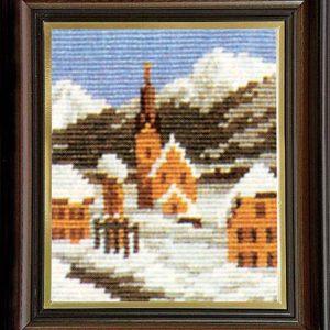 Гоблен Зима в планината, Winter Mountain Gobelin Tapestry