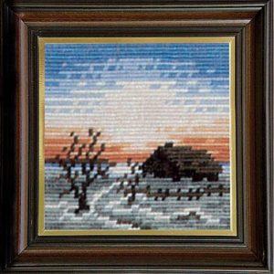 Гоблен Зимна вечер, Winter Night Gobelin Tapestry
