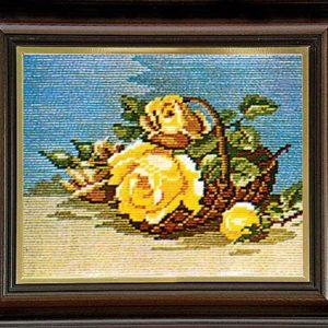 Гоблен Жълти рози, Yellow Roses Gobelin Tapestry