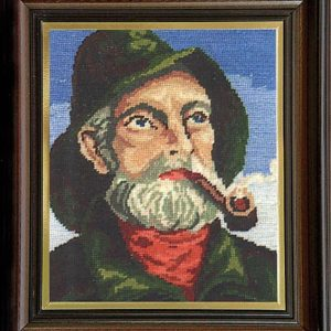 Гоблен Стареца с лулата, Old Man With a Pipe Tapestry
