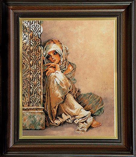 Гоблен Арабско момиче, Arab Girl Tapestry
