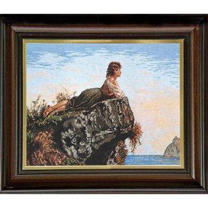 Гоблен Момичето на скалата, Girl On The Rock Tapestry