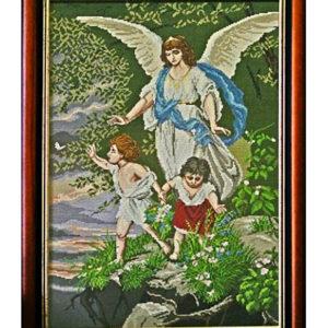 Гоблен Ангел Пазител, Guardian Angel Tapestry