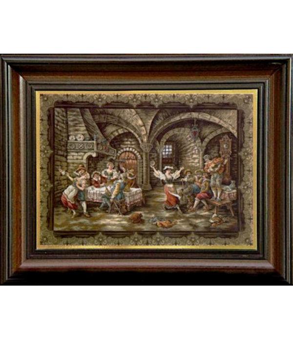 Гоблен Веселите музиканти в кръчмата, Jolly Musicians in the Tavern Tapestry