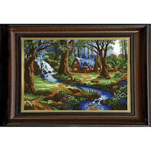 Гоблен Нощ край потока, Night By The Brook Tapestry