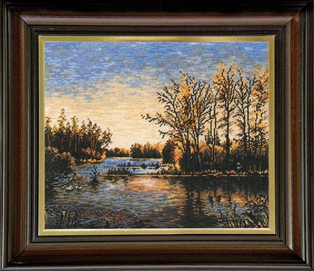 Гоблен Златното езеро, The Golden Pond Tapestry