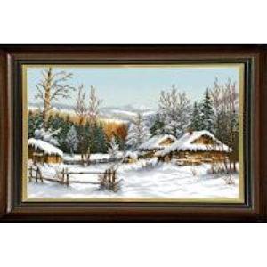 Гоблен Зимна хижа, Winter Cabin Tapestry