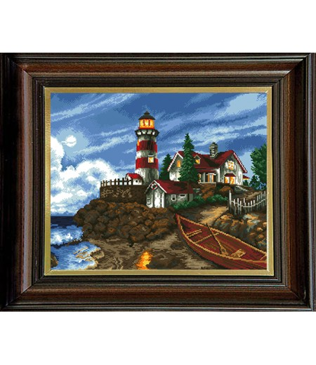 Гоблен Нощен фар, Night Lighthouse Tapestry