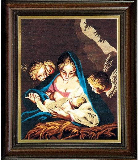 Гоблен Мадоната в пещерата, The Madonna In The Cave Tapestry