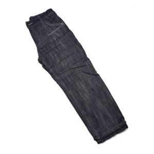 Детска термо долница, памучен плат, с поларена подплата, с красива апликация, тъмно синя